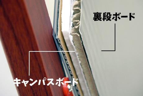 ニューアートフレーム 表面裏面材質